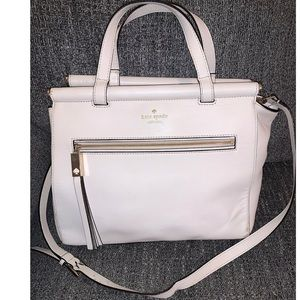 KATE SPADE ♠️ off white shoulder crossbody purse
